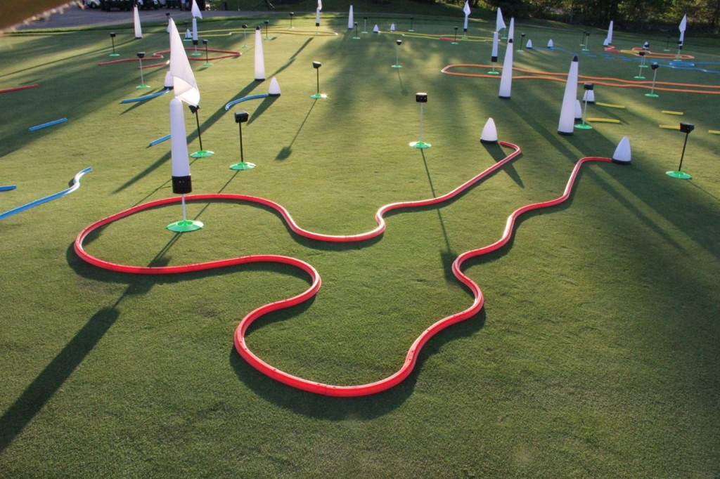 office golf putting track