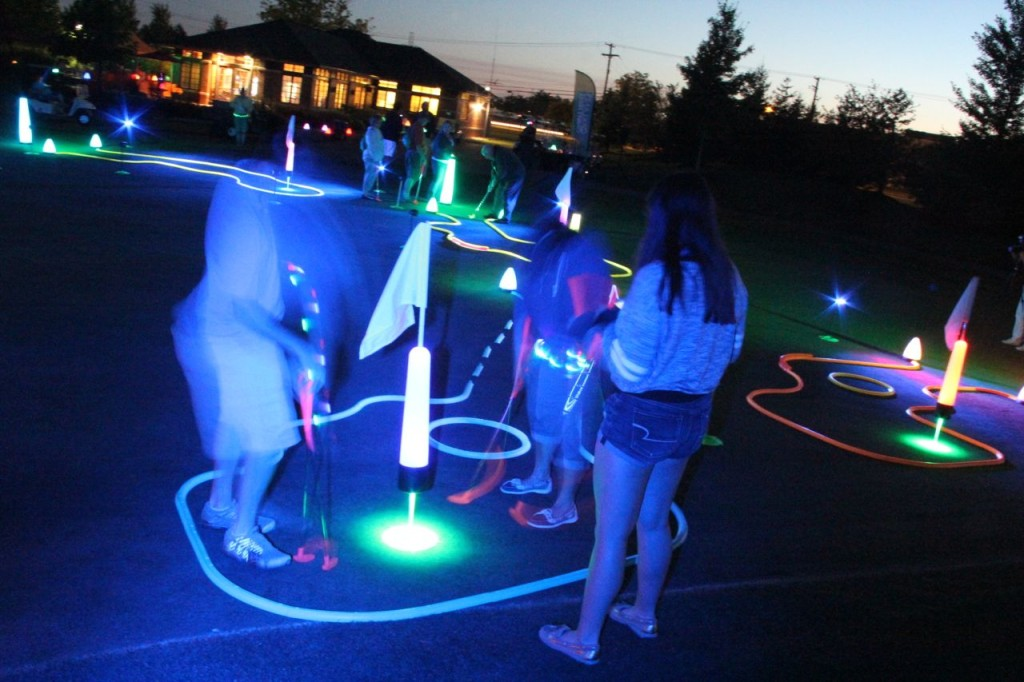 night golf events in detroit