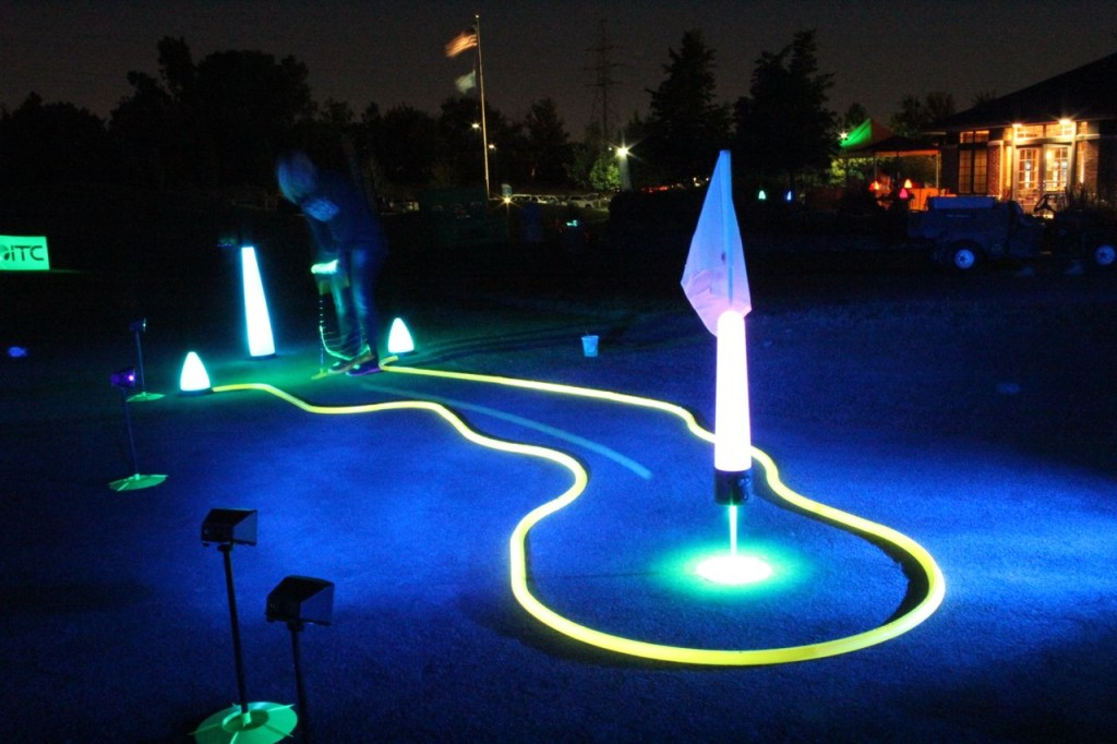 glow in the dark golf