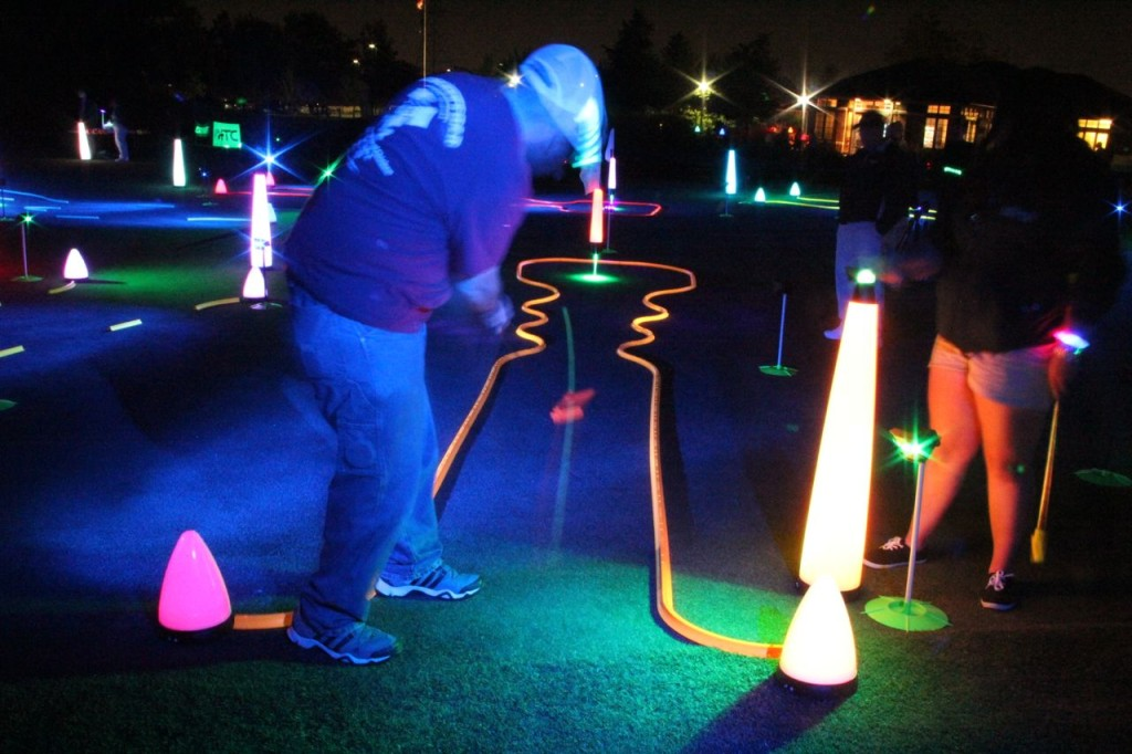 night golf competitions