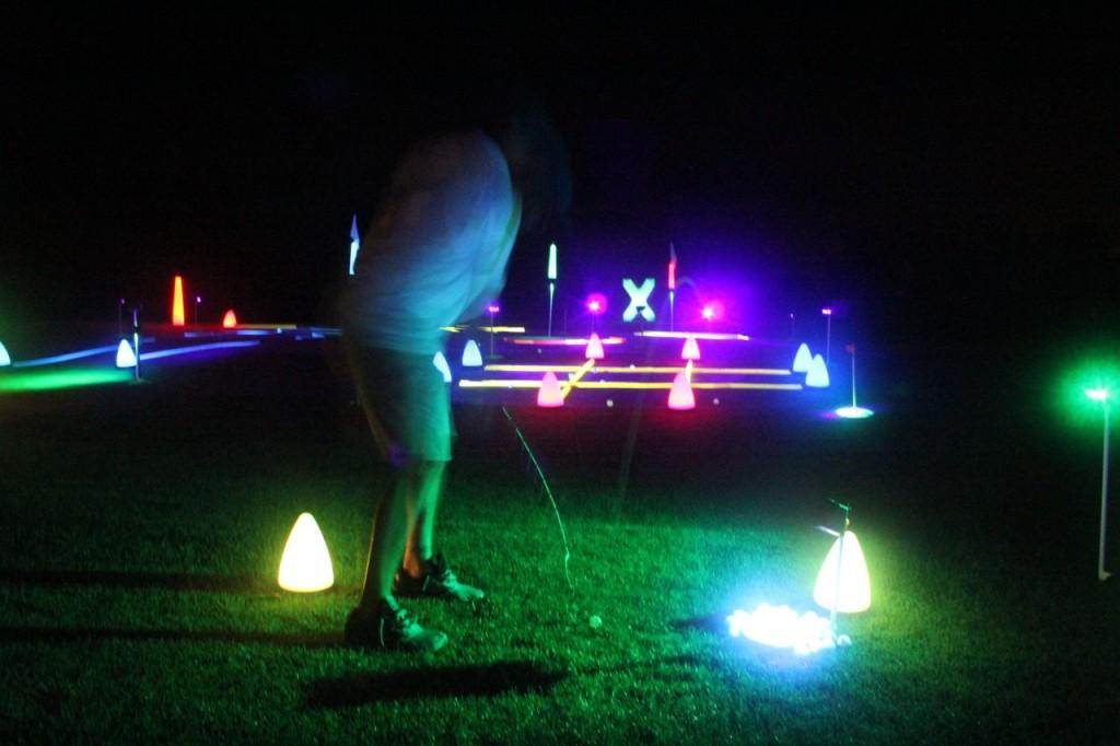 I love iowa night golf