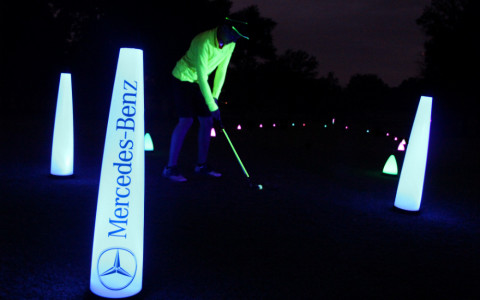 night golfer is here