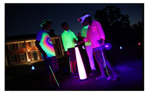 Night golf events