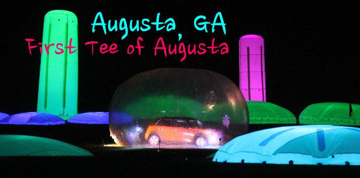 Augusta Georgia night golf