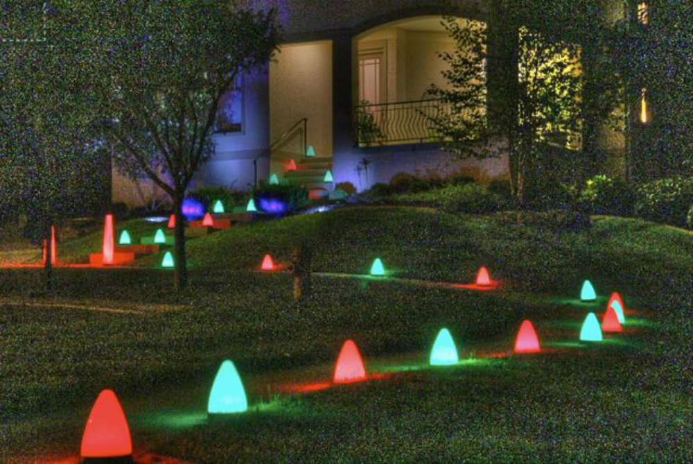 event lighting for walkways