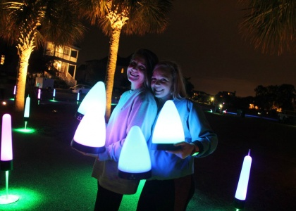 rechargeable party lighting