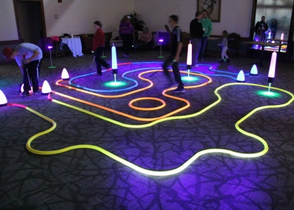 indoor golf putting games