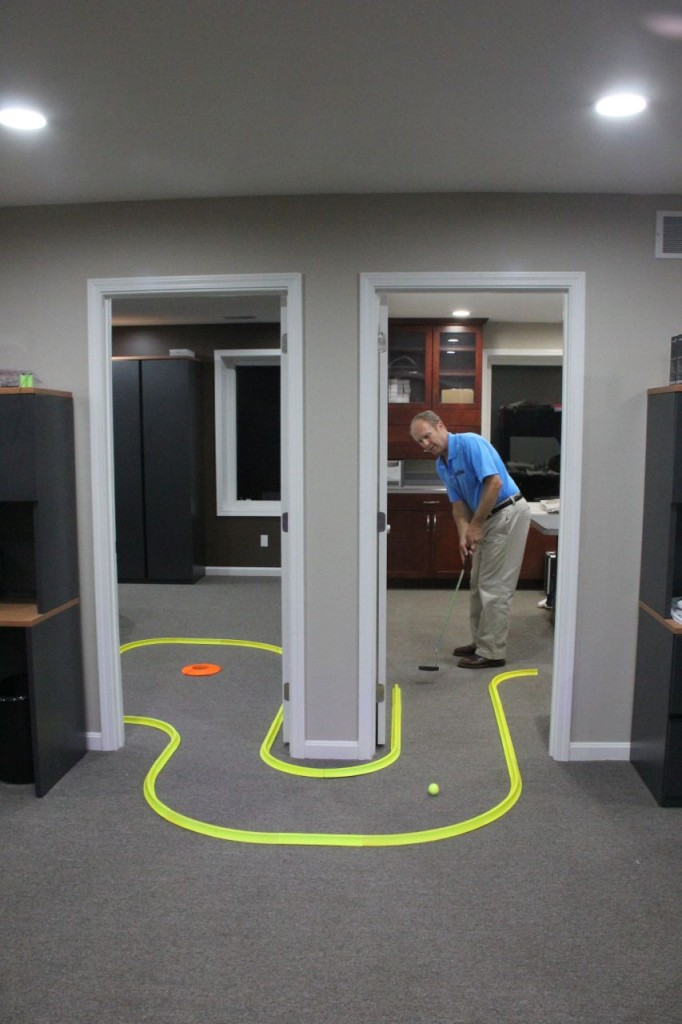 office golf game daytime sports