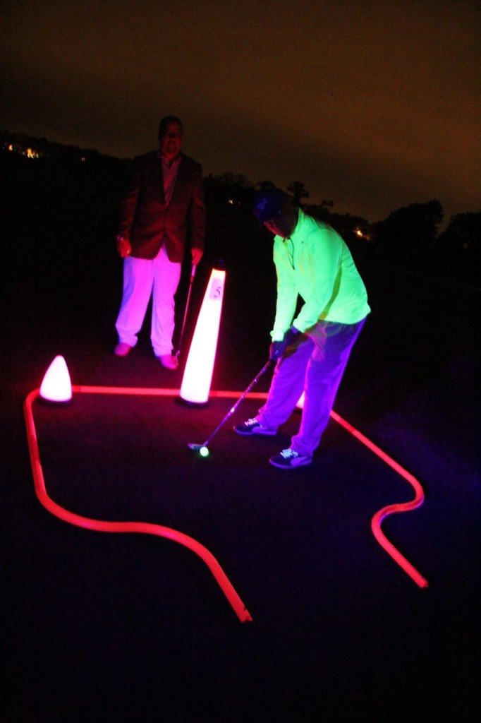 night golf tee box