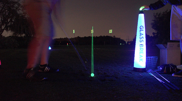 night golf games for fun