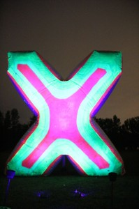night golf target X