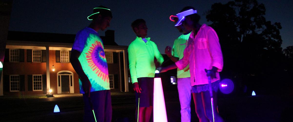night golf highlights