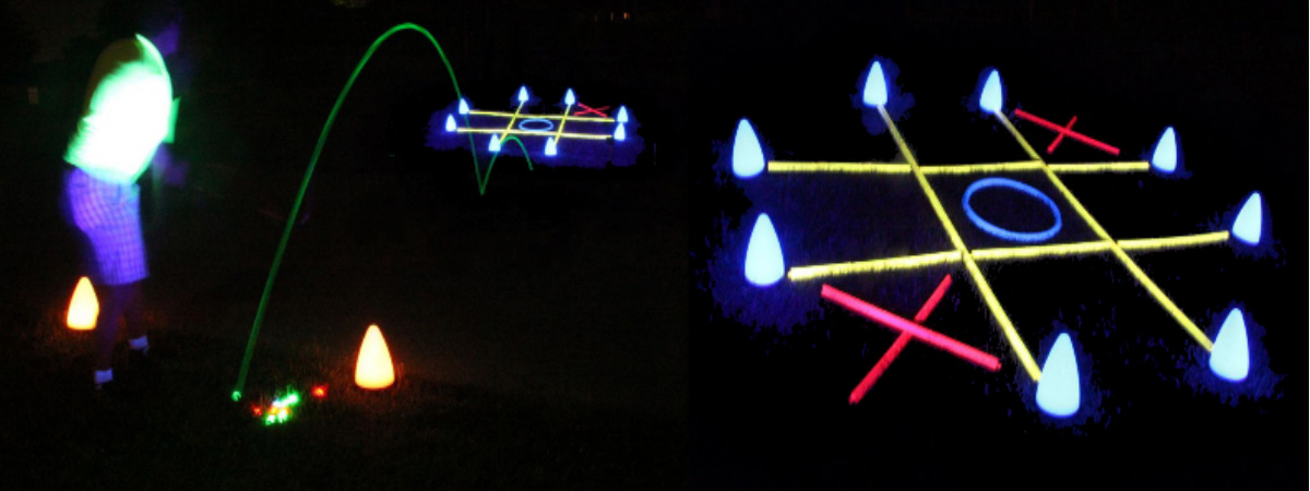 night golf tic tac toe game