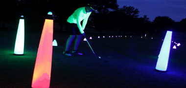 Cosmic Night Glow Golf