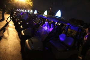 night golf cart lights