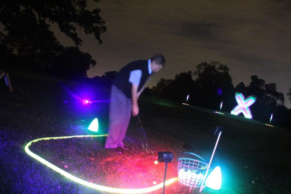 neon golf shots