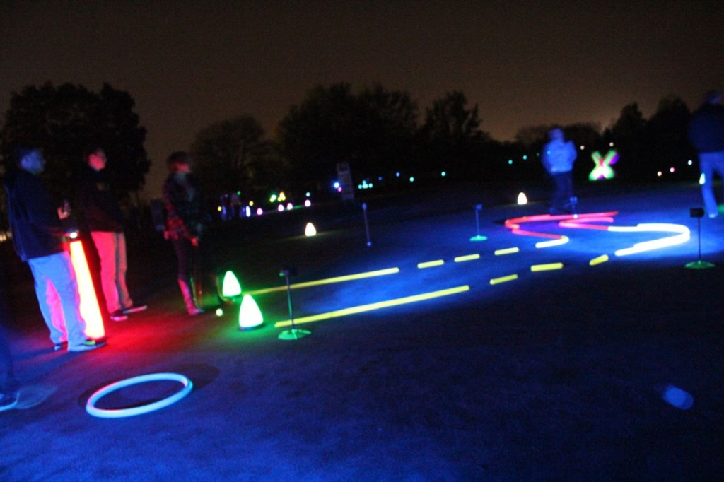night golf games