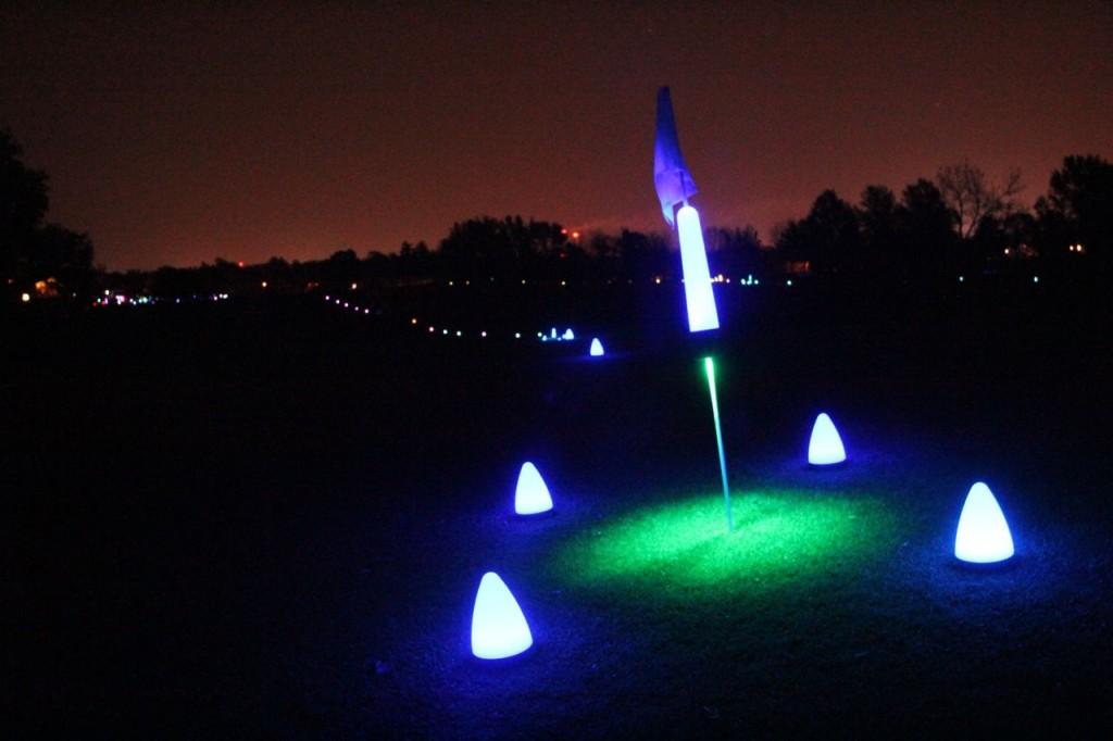 golf target configuraiton