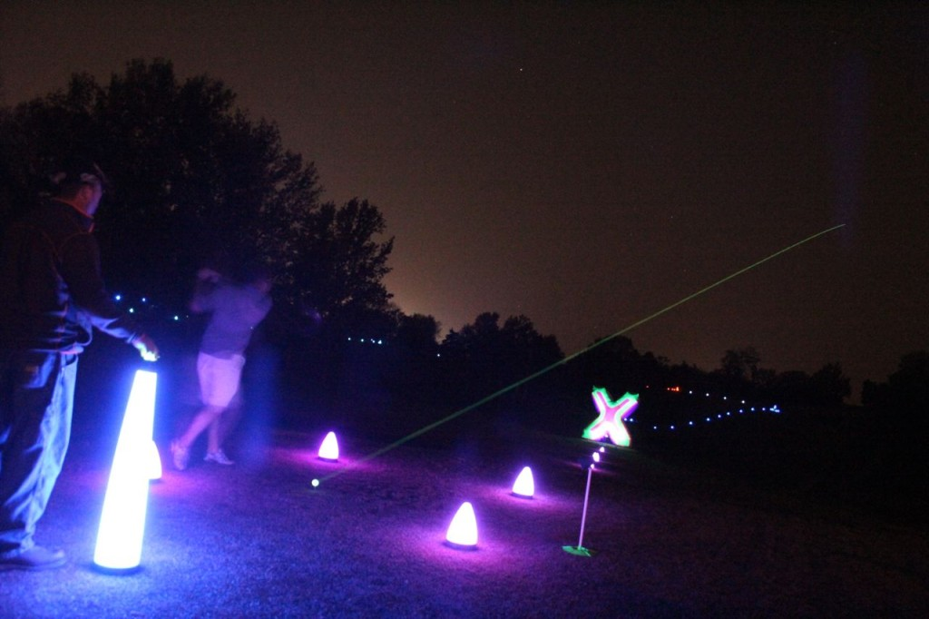 night golf glow equipment