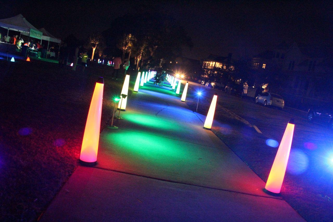 5k glow in the dark runs