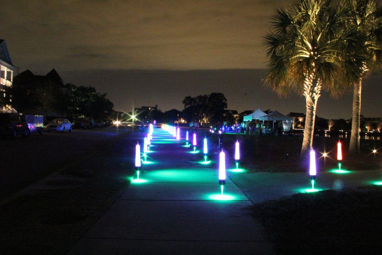 Glow lights for 5k fun runs