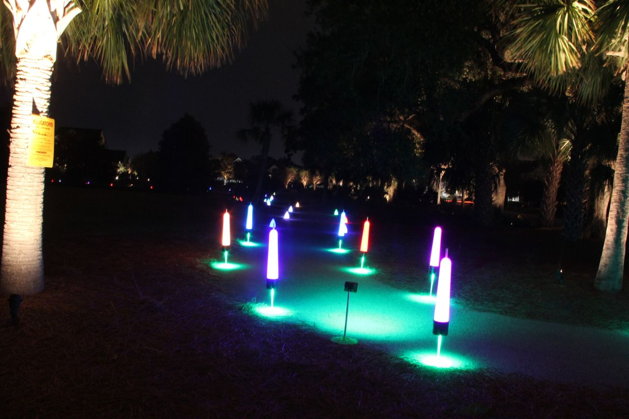 lighting for glow in the dark events
