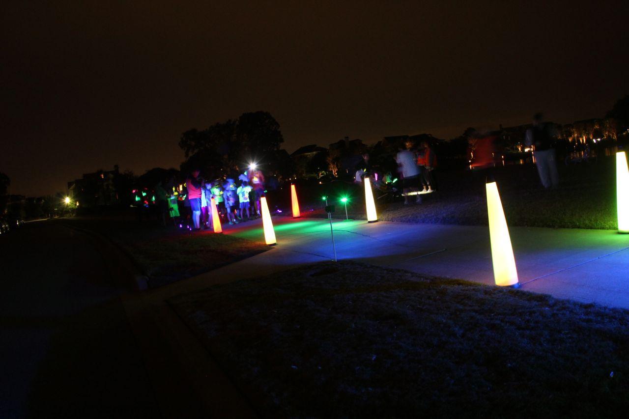 Danial island neon fun run