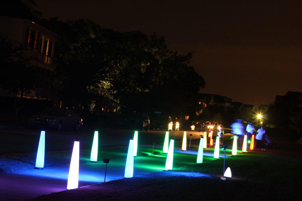 beautiful glow lights
