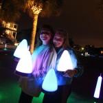 Neon run at Daniel Island November 13th, 2014