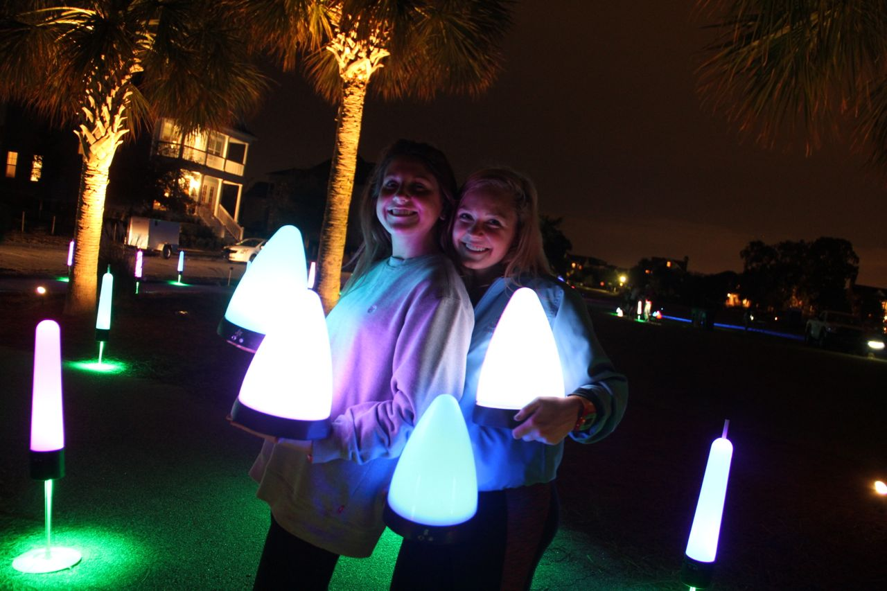 party lights in south carolina