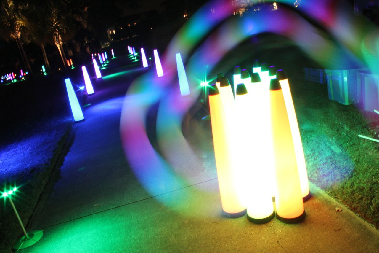 lights for neon runs