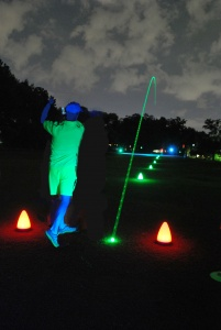 Cosmic Nigh Golf